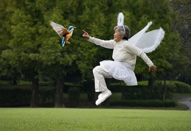 Cụ bà Nhật 90 tuổi tiếp tục chinh phục Internet bằng niềm vui sống mỗi ngày qua nhiếp ảnh - Ảnh 3.