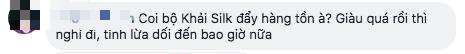 """Xuất hiện thương hiệu lụa mới """"na ná"""" Khaisilk: Từ logo, sản phẩm đến thiết kế fanpage nhưng cam kết là hàng Việt và """"100% tơ tằm - Ảnh 10."""