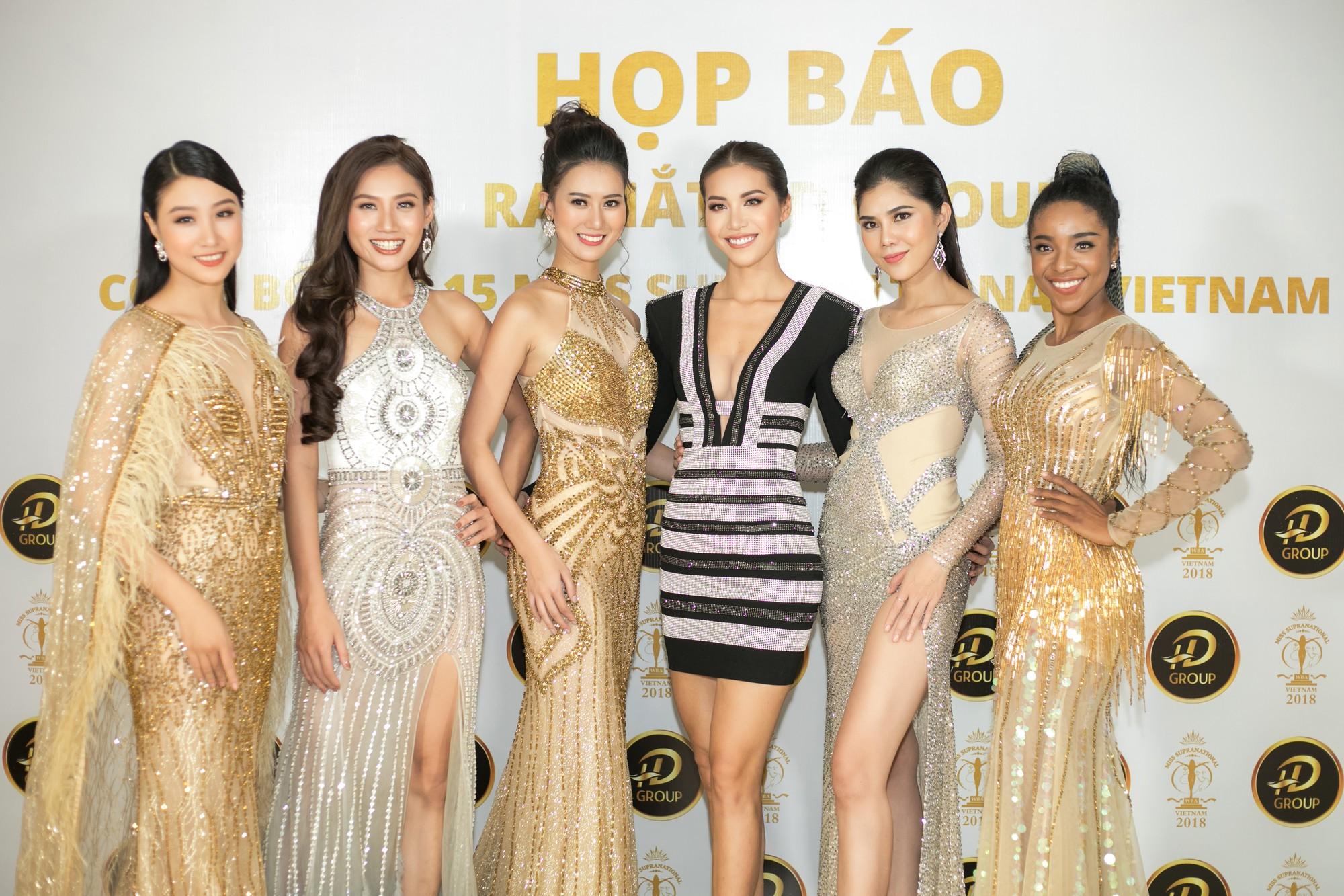 Không ngoài dự đoán, Trương Mỹ Nhân và Ngọc Châu Next Top thẳng tiến vào Top 15 Miss Supranational Vietnam 2018 - Ảnh 15.