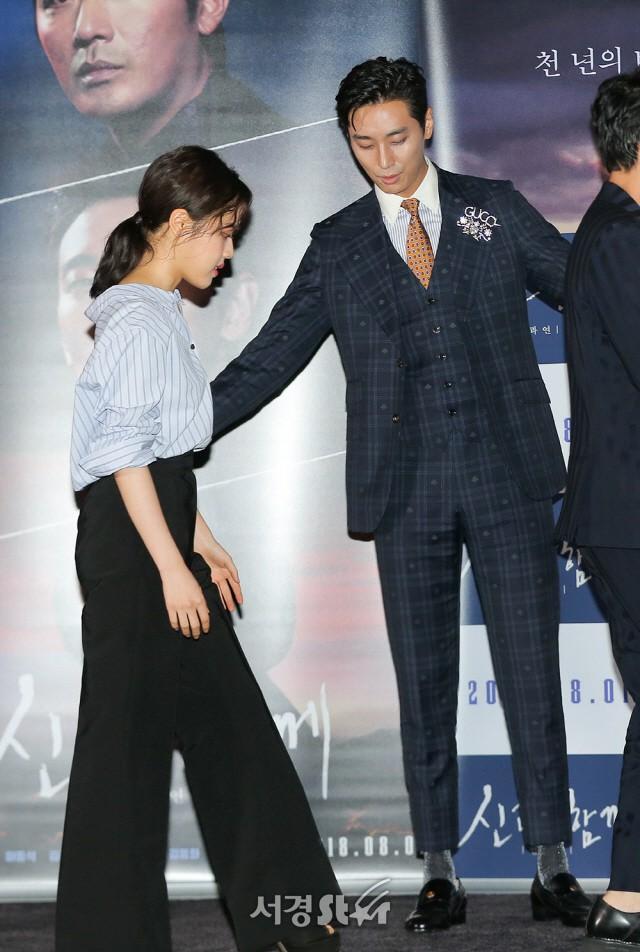 Trên phim, Haewonmaek luôn là người ở bên bảo vệ cho người cộng sự nhỏ bé của mình.
