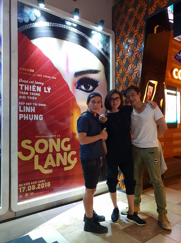 Ngô Thanh Vân và đạo diễn Leon Lê (phải)