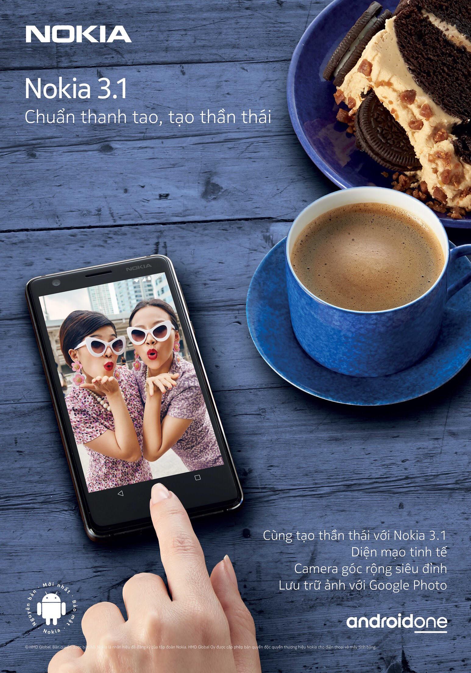 """""""Quan trọng là thần thái"""" hay quan trọng là chỉ cần có Nokia 3.1? - Ảnh 1."""