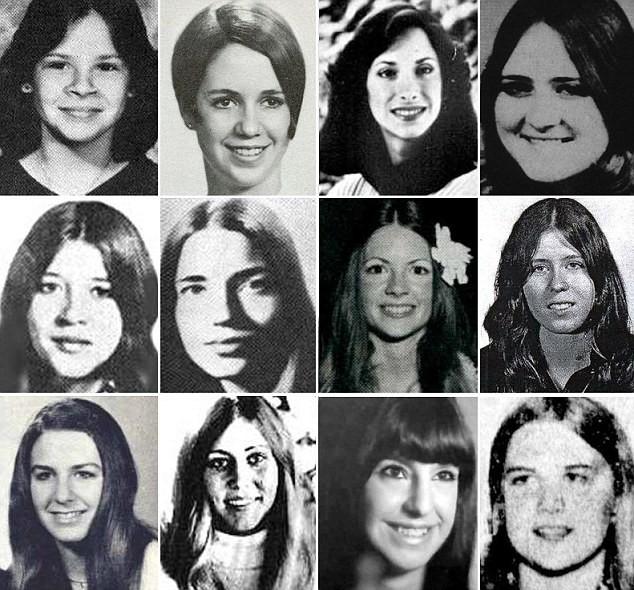Những cô gái xấu số là nạn nhân của tên giết người điển trai Bundy.