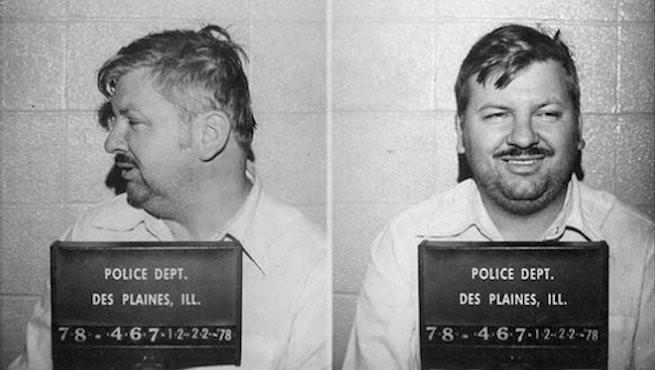 John Wayne Gacy ngoài đời.