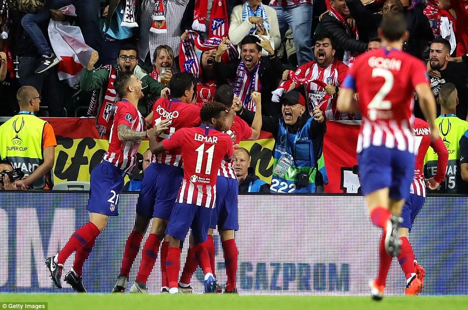 Thua đau trận derby, Real Madrid tuột danh hiệu Siêu Cúp châu Âu - Ảnh 3.