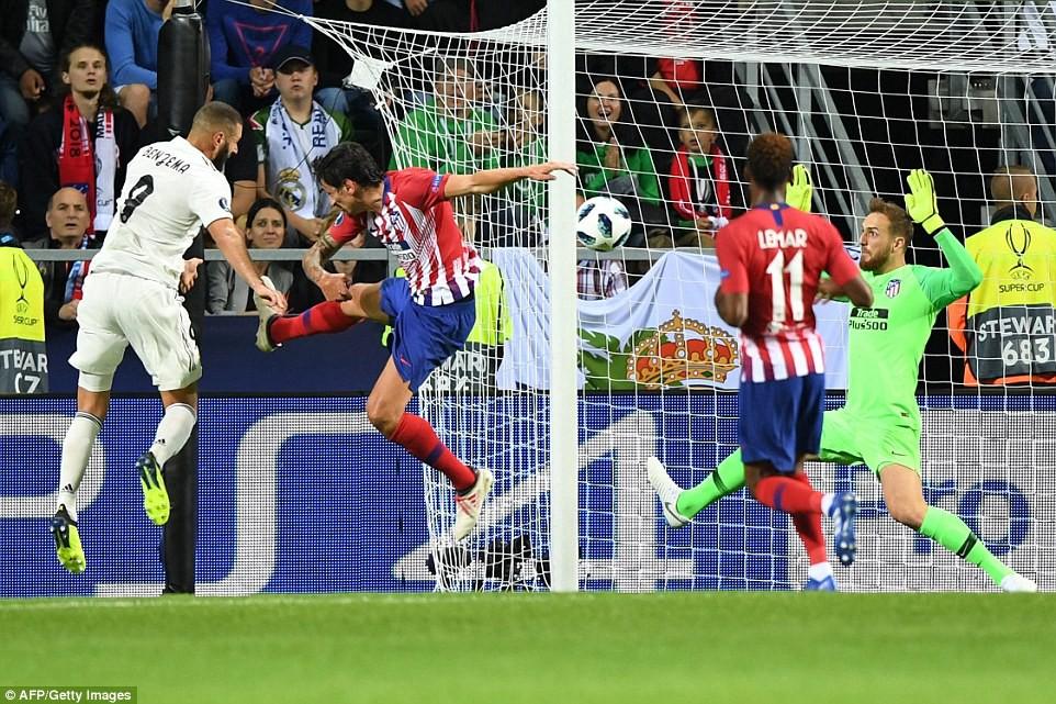 Thua đau trận derby, Real Madrid tuột danh hiệu Siêu Cúp châu Âu - Ảnh 6.