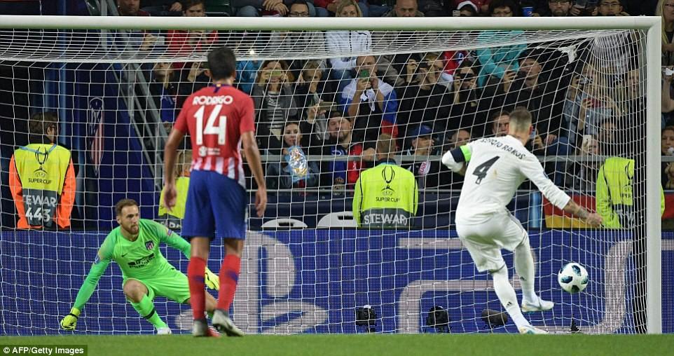 Thua đau trận derby, Real Madrid tuột danh hiệu Siêu Cúp châu Âu - Ảnh 8.