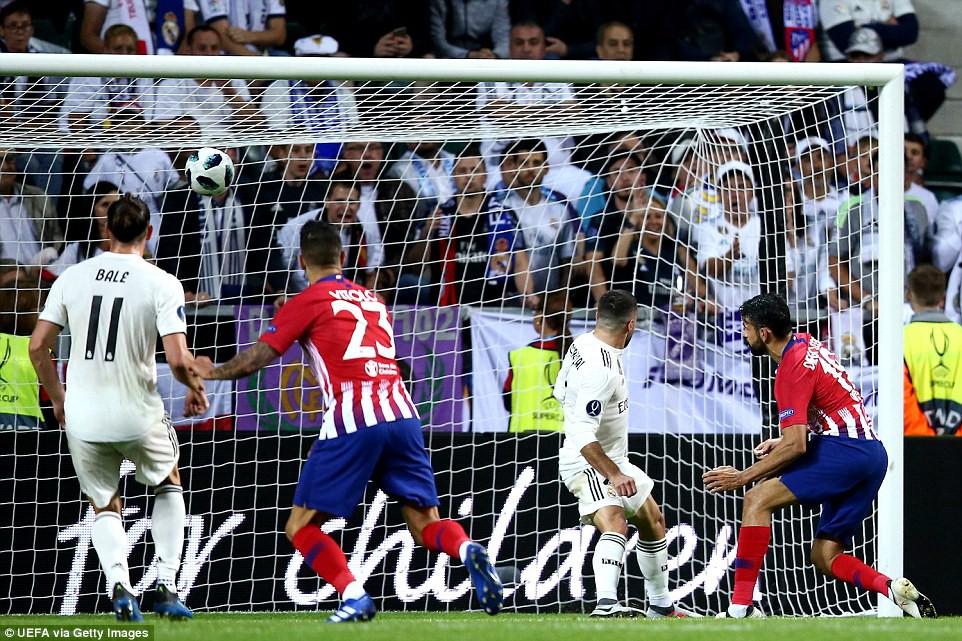 Thua đau trận derby, Real Madrid tuột danh hiệu Siêu Cúp châu Âu - Ảnh 10.