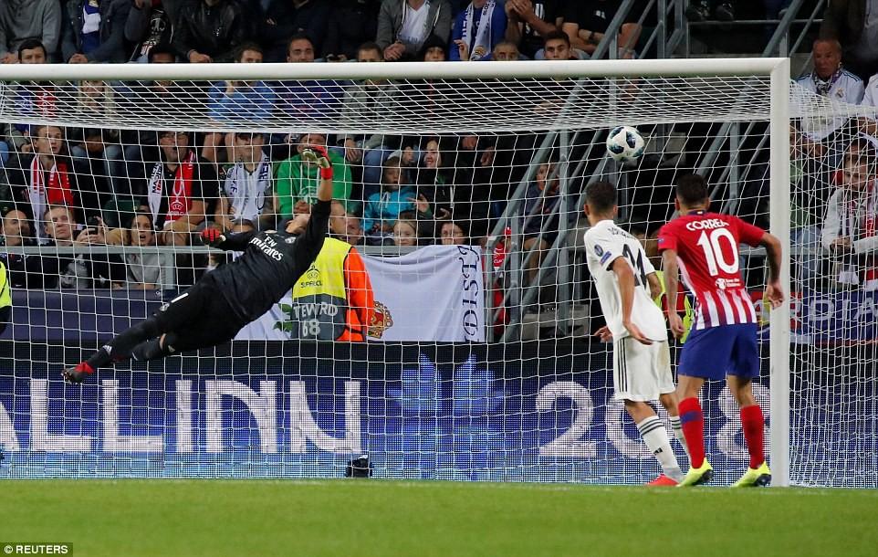 Thua đau trận derby, Real Madrid tuột danh hiệu Siêu Cúp châu Âu - Ảnh 11.
