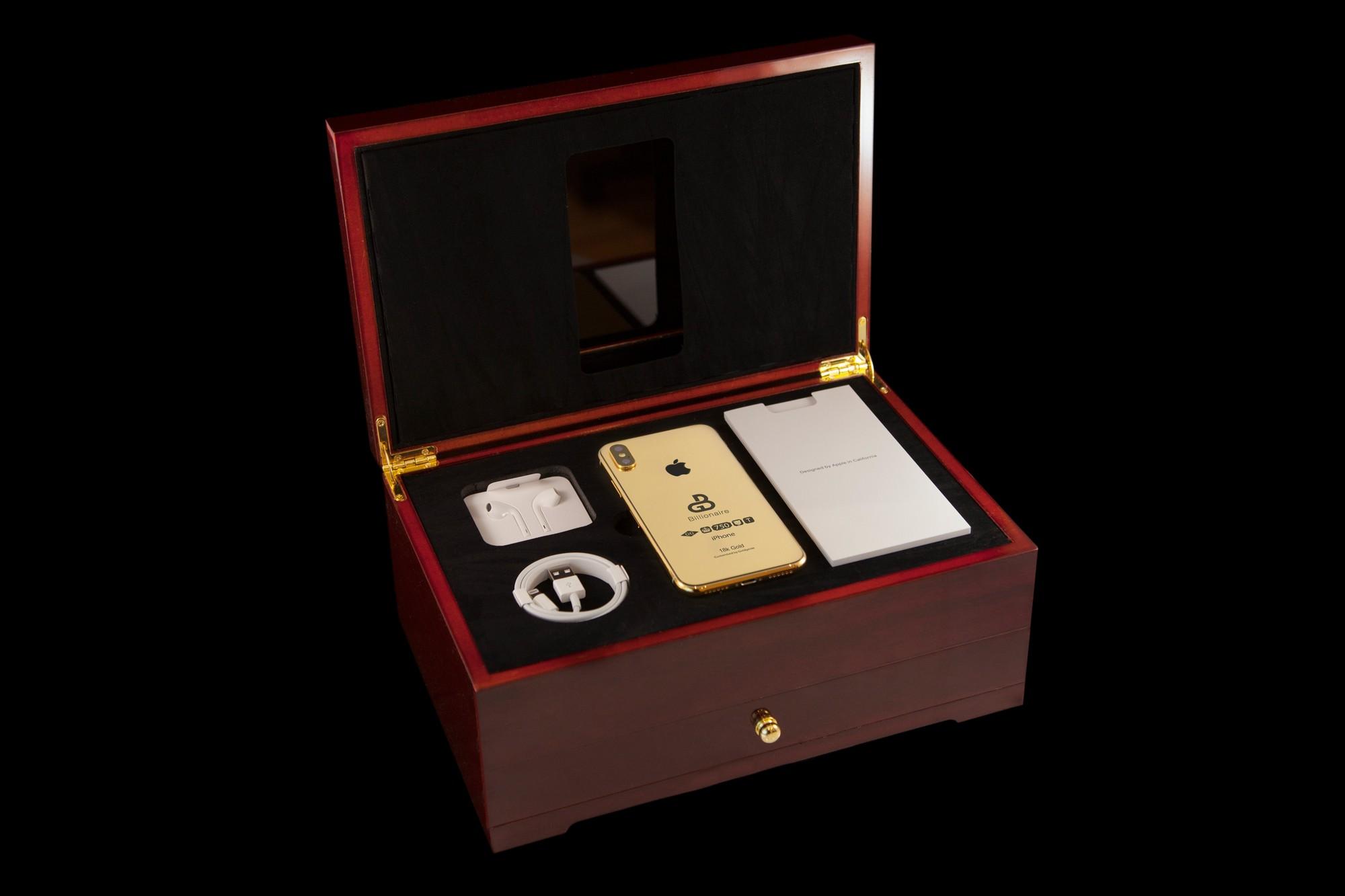 iPhone Xs ép vàng gần 3 tỷ đồng đã xuất hiện cho đặt online dù hàng gốc Apple tháng sau mới ra mắt - Ảnh 5.