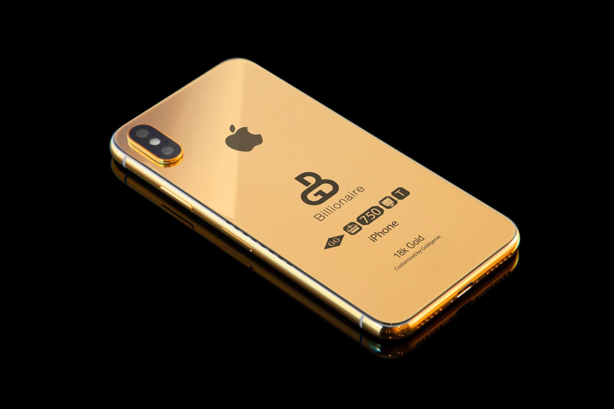 iPhone Xs ép vàng gần 3 tỷ đồng đã xuất hiện cho đặt online dù hàng gốc Apple tháng sau mới ra mắt - Ảnh 3.