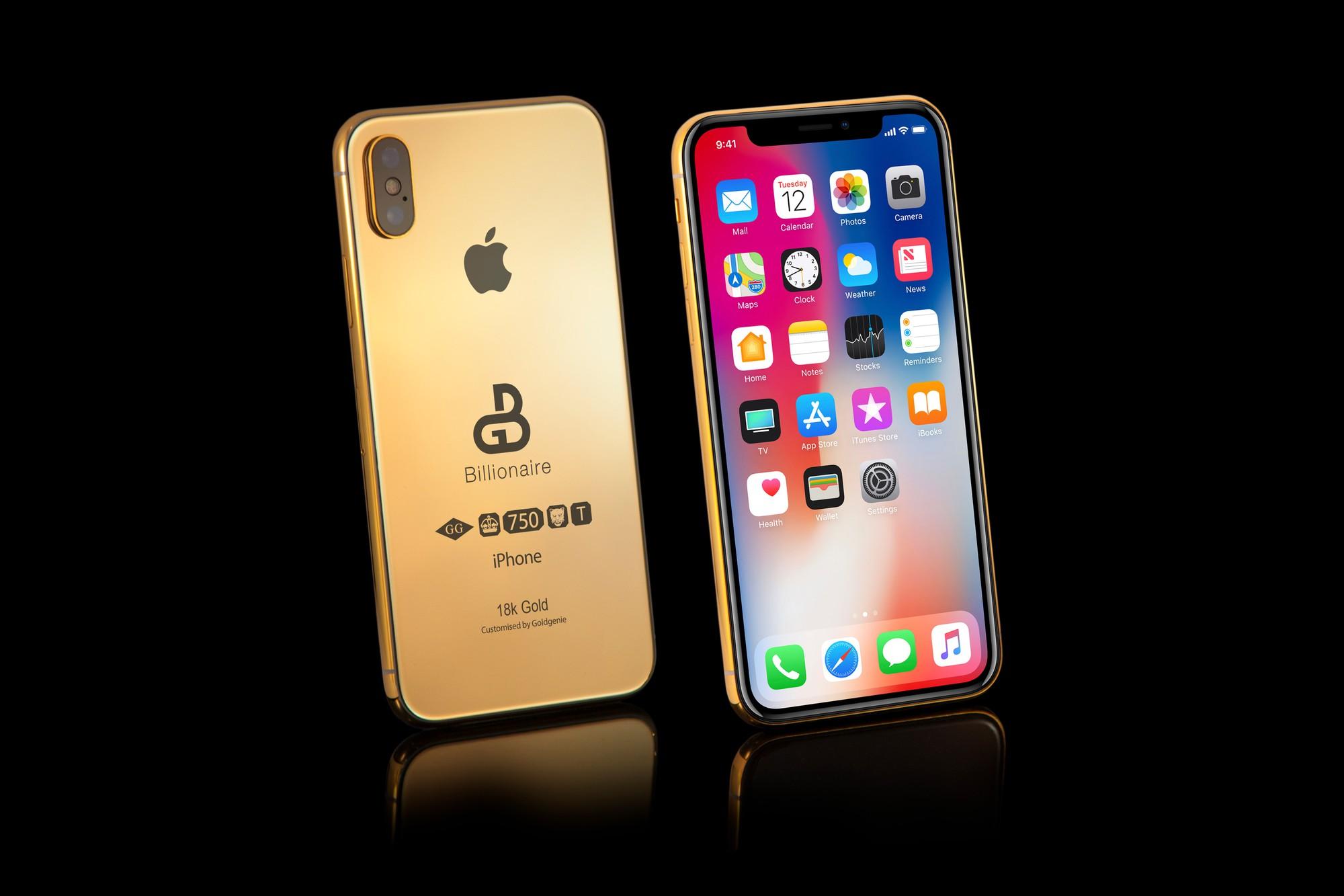 iPhone Xs ép vàng gần 3 tỷ đồng đã xuất hiện cho đặt online dù hàng gốc Apple tháng sau mới ra mắt - Ảnh 4.