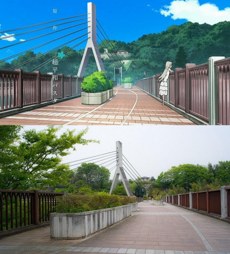 5 anime đẹp đến ngẩn ngơ khiến bạn muốn đặt chân tới Nhật Bản ngay-lập-tức! - Ảnh 25.