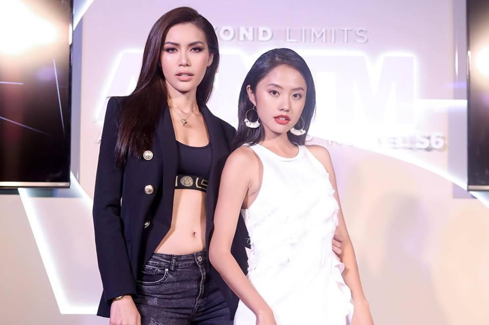 Minh Tú - Rima Thanh Vy cuối cùng cũng có bức hình chung tại họp báo Next Top châu Á - Ảnh 3.