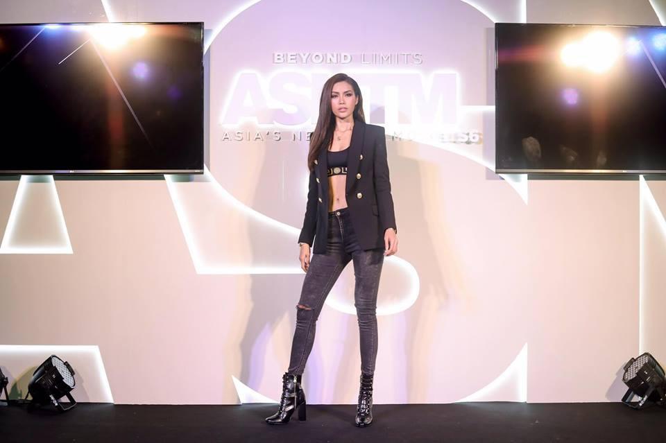 Minh Tú - Rima Thanh Vy cuối cùng cũng có bức hình chung tại họp báo Next Top châu Á - Ảnh 5.