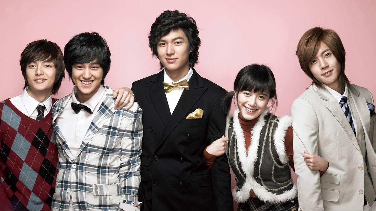 "Lee Min Ho trong bộ phim bước ngoặt ""Boys over Flowers""."