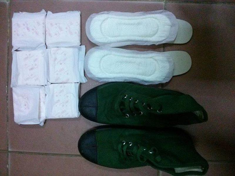 Sử dụng băng vệ sinh để lót giày, các anh bộ đội Việt Nam làm cộng đồng mạng thế giới thán phục vì thông minh sáng tạo - Ảnh 3.
