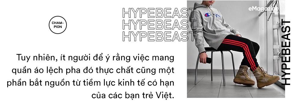 Hypebeast Việt và câu chuyện về những rich kid đi xe bus, tiền nhiều mà gu thẩm mỹ chẳng bao nhiêu - Ảnh 12.