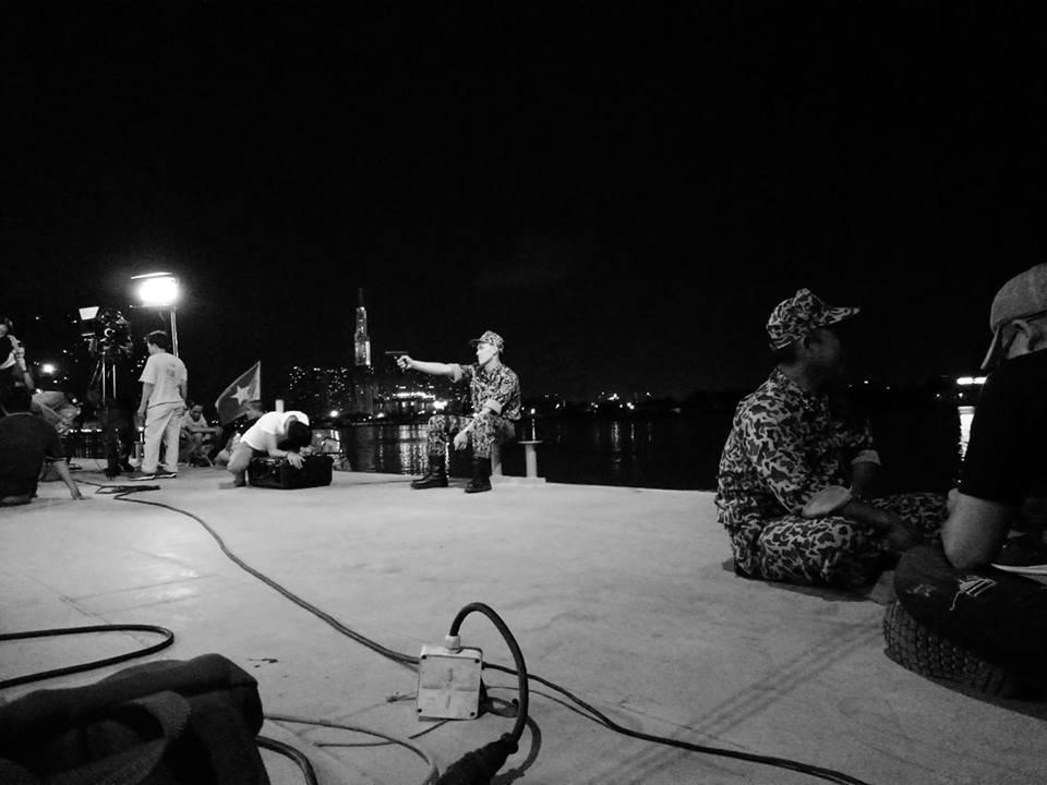 Những cảnh quay được thực hiện trong đêm