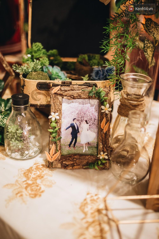 Không gian đám cưới sang trọng, tinh tế như một khu vườn cổ tích trong đám cưới của Tuyết Lan - Ảnh 7.