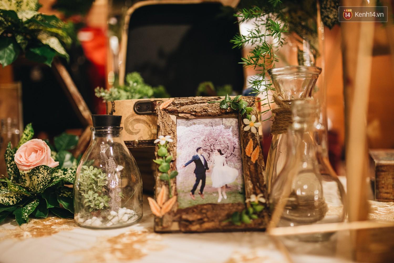 Không gian đám cưới sang trọng, tinh tế như một khu vườn cổ tích trong đám cưới của Tuyết Lan - Ảnh 8.