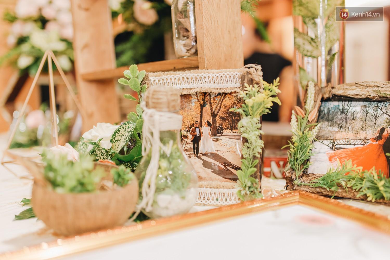 Không gian đám cưới sang trọng, tinh tế như một khu vườn cổ tích trong đám cưới của Tuyết Lan - Ảnh 9.