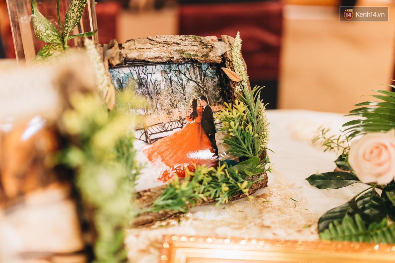 Không gian đám cưới sang trọng, tinh tế như một khu vườn cổ tích trong đám cưới của Tuyết Lan - Ảnh 10.