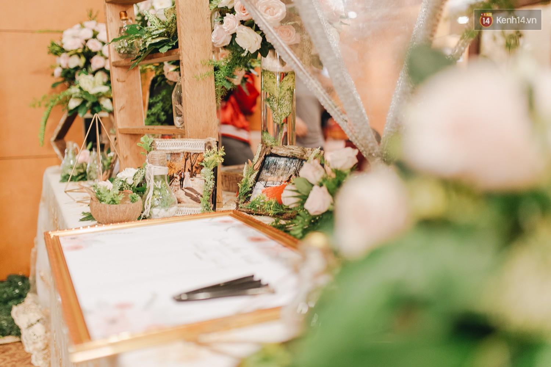 Không gian đám cưới sang trọng, tinh tế như một khu vườn cổ tích trong đám cưới của Tuyết Lan - Ảnh 11.