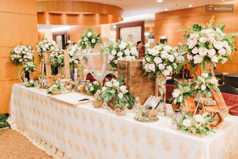 Không gian đám cưới sang trọng, tinh tế như một khu vườn cổ tích trong đám cưới của Tuyết Lan - Ảnh 12.
