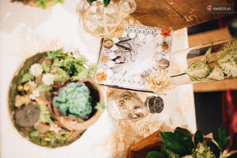Không gian đám cưới sang trọng, tinh tế như một khu vườn cổ tích trong đám cưới của Tuyết Lan - Ảnh 15.