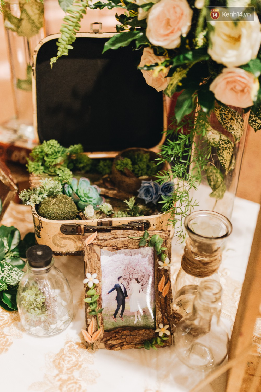 Không gian đám cưới sang trọng, tinh tế như một khu vườn cổ tích trong đám cưới của Tuyết Lan - Ảnh 16.