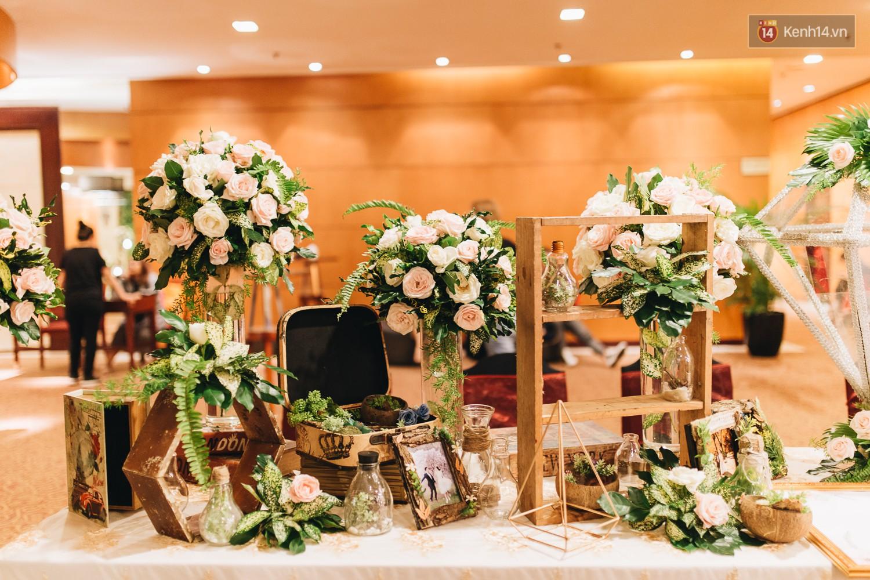 Không gian đám cưới sang trọng, tinh tế như một khu vườn cổ tích trong đám cưới của Tuyết Lan - Ảnh 17.