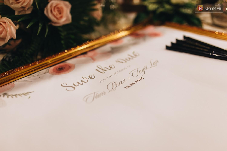 Không gian đám cưới sang trọng, tinh tế như một khu vườn cổ tích trong đám cưới của Tuyết Lan - Ảnh 18.