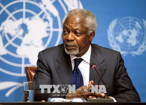 Tổng thống Ghana tuyên bố quốc tang 1 tuần tưởng nhớ ông Kofi Annan - Ảnh 1.