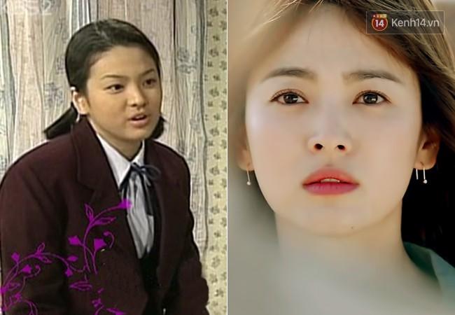 """4. Song Hye Kyo khi đóng """"Mối Tình Đầu"""" còn chưa đầy 15 tuổi. Ngôi sao của phim lúc bấy giờ là ngọc nữ Lee Seung Yeon. 22 năm sau, Song Hye Kyo đã """"có tất cả"""", còn Lee Seung Yeon trở thành tội đồ trong mắt công chúng vì hàng loạt scandal chấn động."""