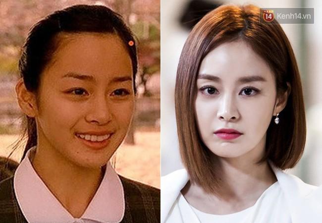 """20. Kim Tae Hee chính là người đảm nhận phiên bản nhí của Lee Young Ae trong """"Last Present"""" năm 2001. Chẳng cần makeup kĩ càng, mỹ nhân """"Yongpal"""" cũng đủ làm hàng triệu khán giả tan chảy vì vẻ đẹp """"nghìn năm có một"""" của mình."""