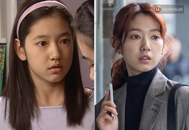 """14. Park Shin Hye ra mắt vào năm 2003 khi mới 13 tuổi. Vai nữ chính thời trẻ trong """"Nấc Thang Lên Thiên Đường"""" là bước đà hoàn hảo để cô phát triển sự nghiệp. Sau movie """"Heart Blackened"""" không thành công, cô sẽ tái xuất màn ảnh nhỏ cùng Hyun Bin với """"Memories of the Alhambra""""."""
