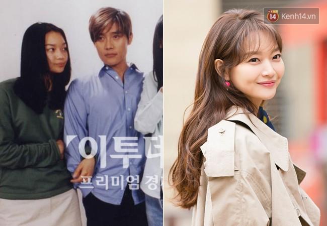"""16. Shin Min Ah của năm 2001 trong hit truyền hình """"Beautiful Days"""" thua xa hiện tại về nhan sắc. Những năm gần đây, sự nghiệp của người đẹp này khá mờ nhạt và không có nhiều đột phá."""