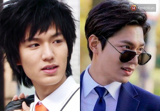 """11. Người yêu cũ của Suzy, Lee Min Ho, chính thức ra mắt trong tác phẩm """"Secret Campus"""" (2006), đóng cùng Park Bo Young. Nhìn lại ảnh quá khứ, không ít người tin rằng anh có chỉnh mũi một chút."""