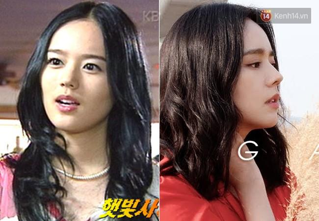 """1. Năm 2002, Han Ga In ra mắt khán giả màn ảnh nhỏ thông qua """"Sunshine Hunting"""" của đài KBS. 16 năm qua đi, mỹ nhân sinh năm 1982 ngày càng xinh đẹp mặn mà. Tuy đóng phim ít (và đóng cũng... không hay), cô vẫn là cái tên được báo chí và công chúng đặc biệt quan tâm."""