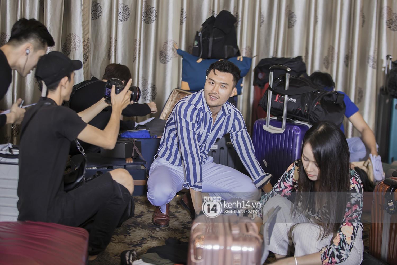 The Face ghi hình top 37: Tình cũ Kim Lý chơi trội, hot boy Quốc Anh rút lui - Ảnh 9.