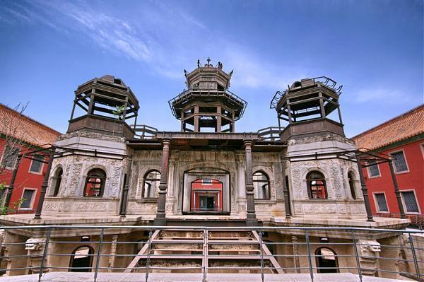 Diên Hi cung thời nay sau khi đã được tu sửa, là một điểm tham quan ở Bắc Kinh