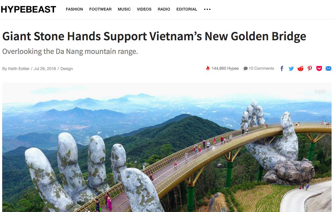 Cầu Vàng ở Đà Nẵng vẫn đang là từ khoá hot nhất trên các trang tin lẫn mạng xã hội quốc tế - Ảnh 25.