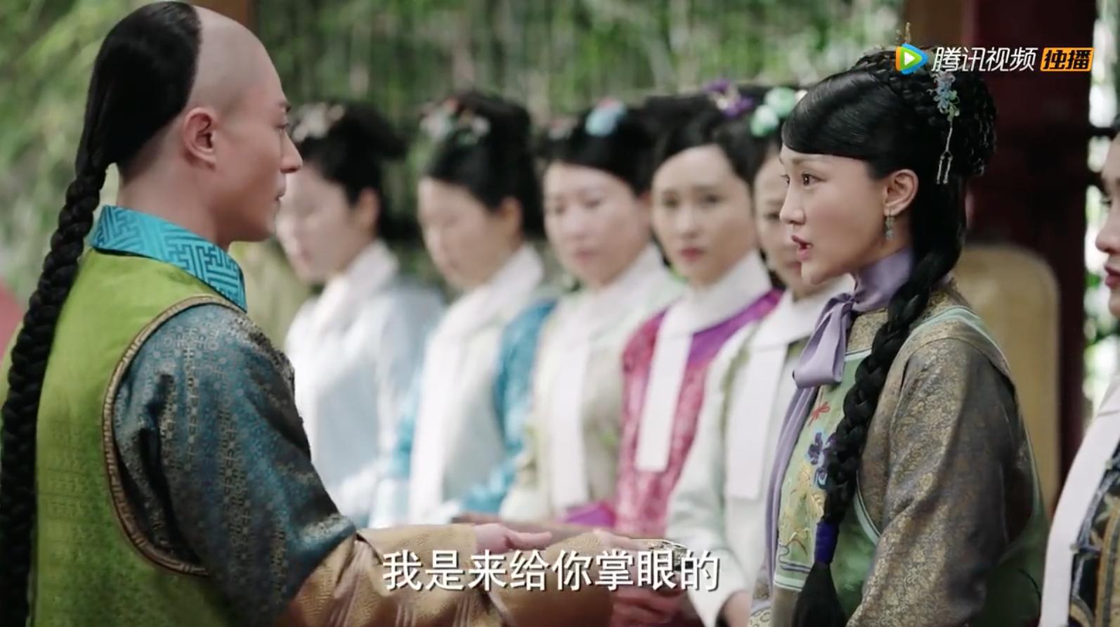 """Không chỉ Châu Tấn, Hoắc Kiến Hoa cũng bị """"bêu rếu"""" vì tạo hình """"xanh cạnh tranh"""" với các phi tần"""