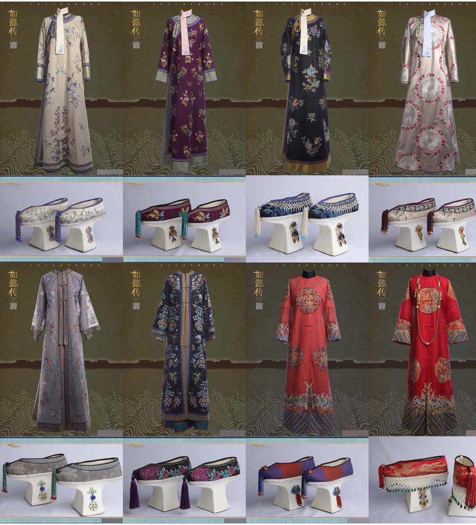 """Loạt trang phục hứa hẹn sẽ """"chặt chém"""" hậu cung của Châu Tấn trong phim"""
