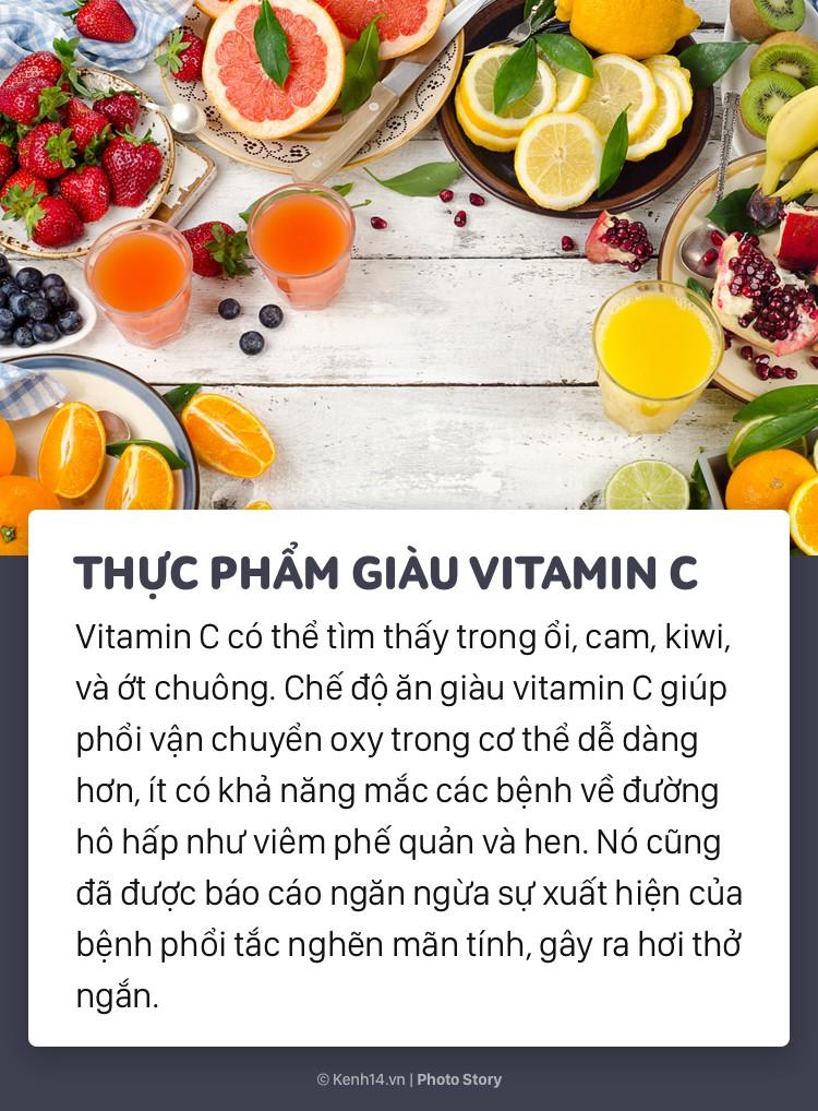 Sử dụng ngay những thực phẩm bổ ích sau để giúp phổi khoẻ mạnh tránh nguy cơ ung thư - Ảnh 10.