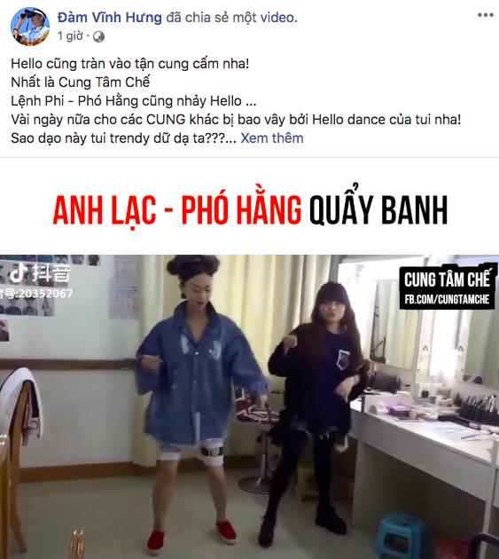 Clip chế: Nguỵ Anh Lạc, Phó Hằng, Cao Quý Phi... người quẩy cực sung, kẻ phiêu hết cỡ trên nền nhạc Vpop - Ảnh 3.