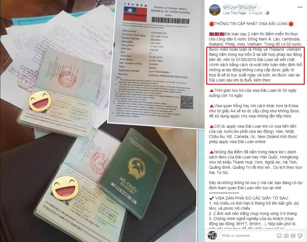 Đài Loan thắt chặt chính sách cấp visa đối với công dân Việt Nam: Dịch vụ làm visa thừa nhận khó khăn, nhiều người lo lắng - Ảnh 5.