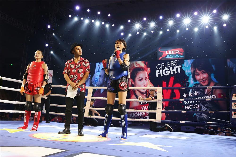 Yaya Trương Nhi đấu muay Thái gây quỹ hỗ trợ bệnh nhân ung thư - Ảnh 1.