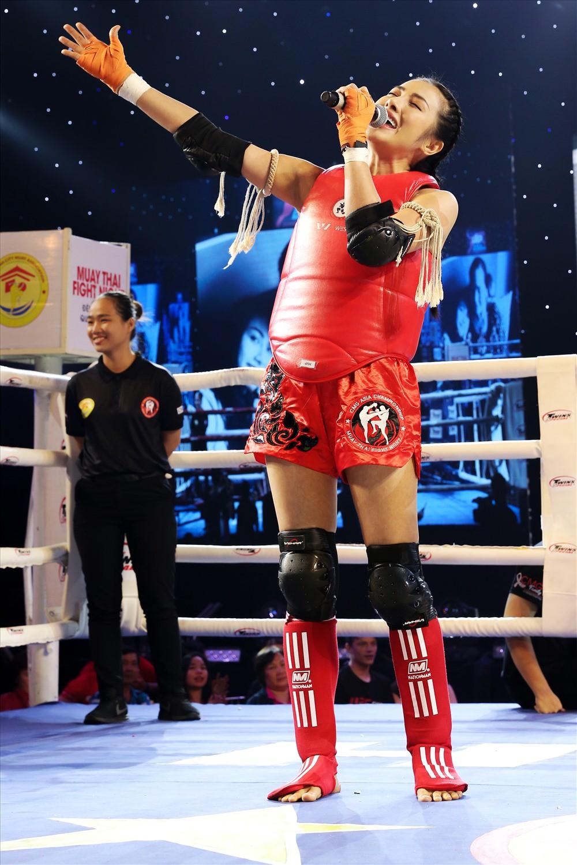 Yaya Trương Nhi đấu muay Thái gây quỹ hỗ trợ bệnh nhân ung thư - Ảnh 2.